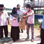 Nelayan Tanjungpinang Terima Bantuan Kapal Pompong